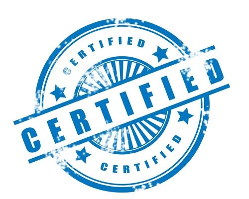 certified 22